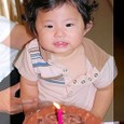 You  1才お誕生日
